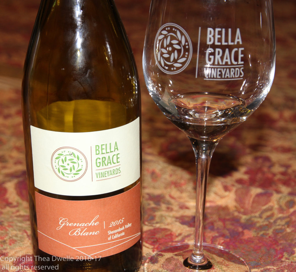 Bella Grace Vineyards Grenache Blanc