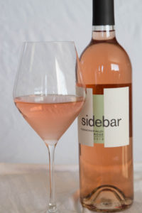 Rosé Colored Glasses:  Sidebar Cellars